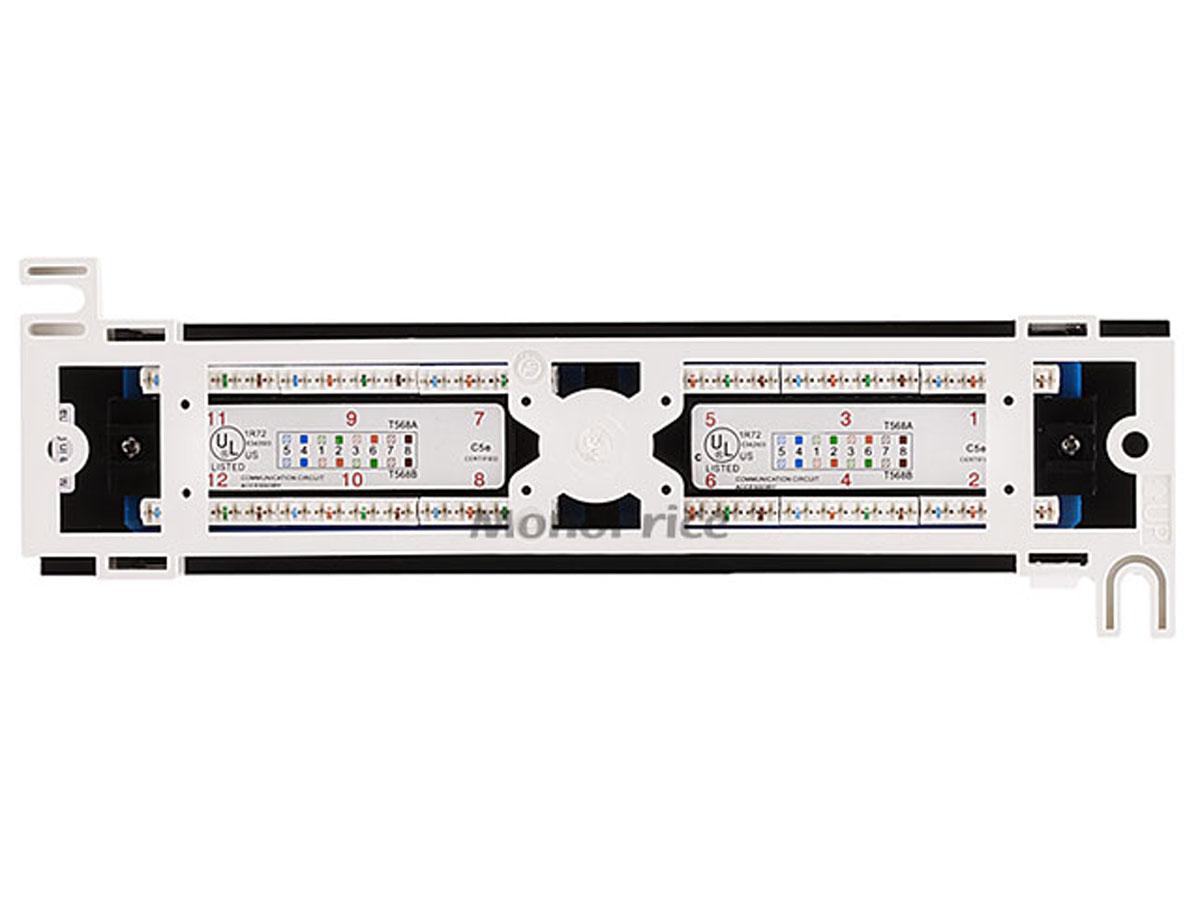 cat5e patch panel wiring diagram sps audiovox 12 port mini 110 type 568a b compatible