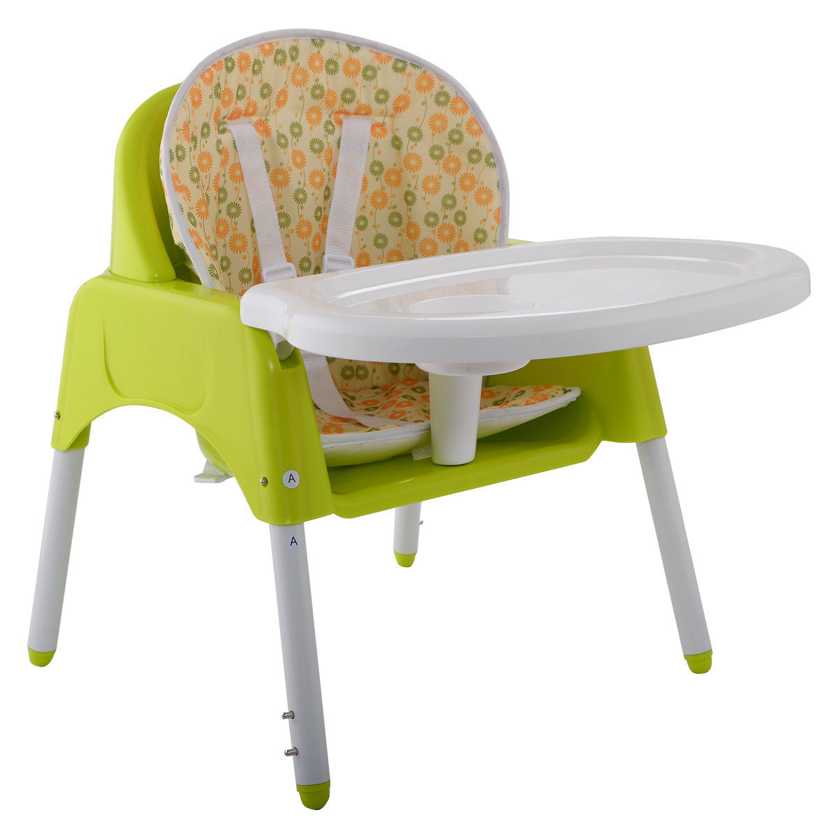 High Chair Deals Green 3 In 1 Baby High Chair Convertible Table Seatfeeding