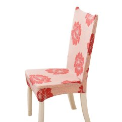 Chair Seat Covers With Elastic Chairs Out Of Pallets Home Removable Slipcovers Short Dining Room Stool