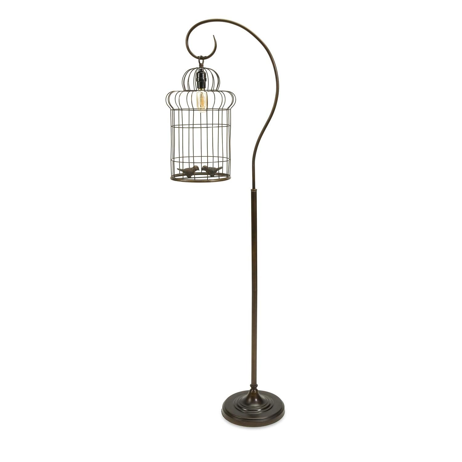 61 Innovative Love Birds Birdcage Decorative Floor Lamp