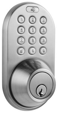 MiLocks DF-02SN Keyless Entry Touchpad Deadbolt Door Lock ...