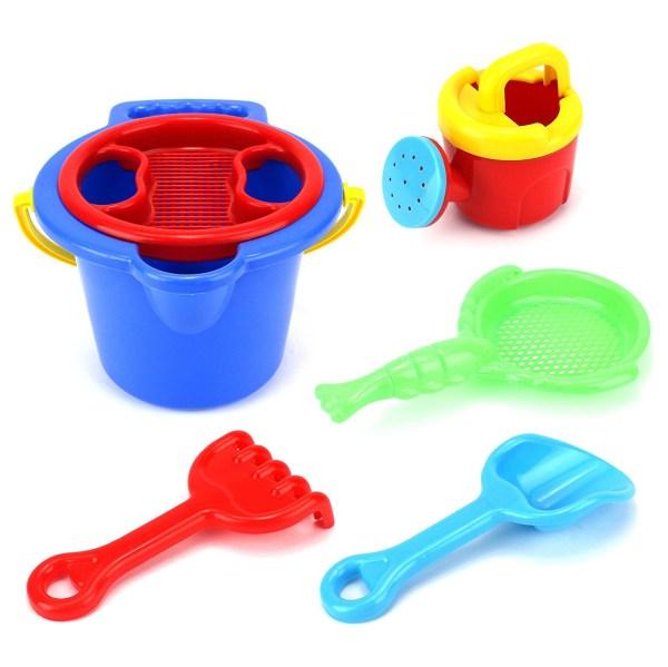 Kid Deluxe Bucket With Kid' Beach Sandbox Playset - Tanga