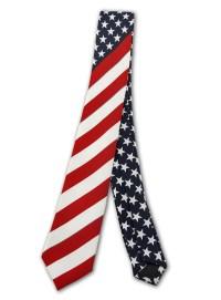 U.S. American Flag Necktie Usa Mens Neckties - Tanga