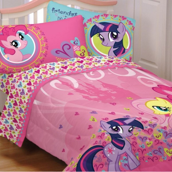 Brand Little Pony 4pctwin Comforter Sheet Set