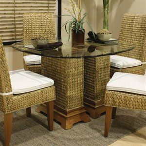 white upholstered rocking chair folding table with storage inside dining table: seagrass pedestal