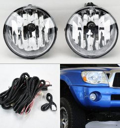 details about fog lights w wiring pair rh lh for toyota tacoma tundra sequoia solara [ 900 x 900 Pixel ]