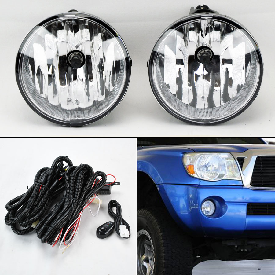 hight resolution of details about fog lights w wiring pair rh lh for toyota tacoma tundra sequoia solara