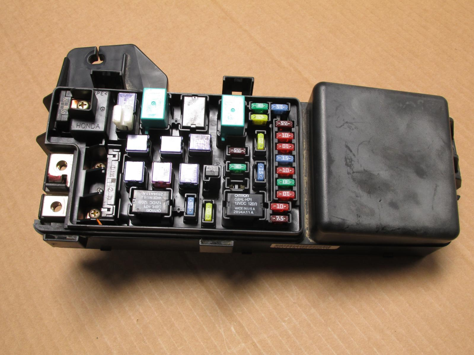 2004 Honda Pilot Relay Box