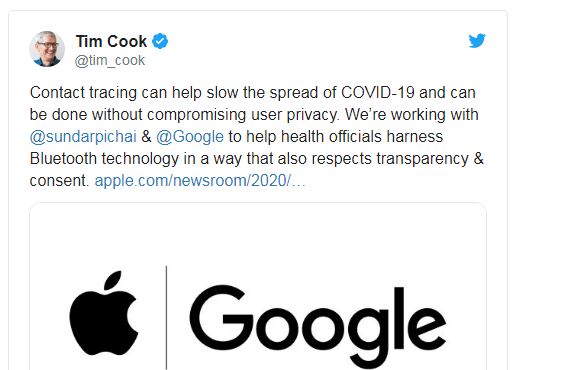 Google & Apple are Collaborating for Covid-19 project