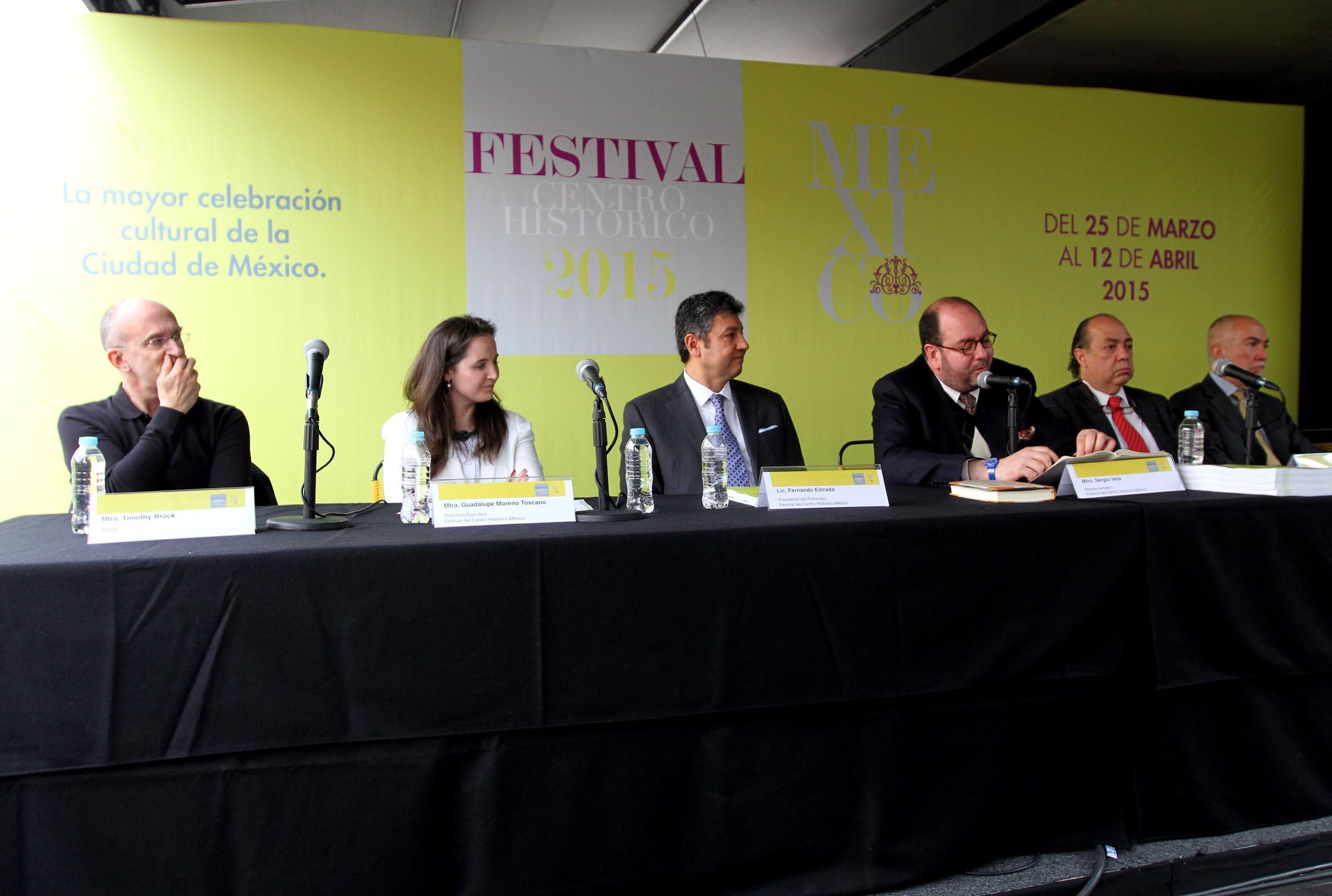 Invierten 32 mdp para Festival del Centro Histórico