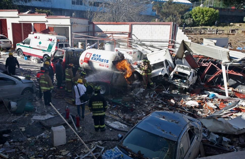 Exoneran a chofer de pipa que explotó en Hospital de Cuajimalpa