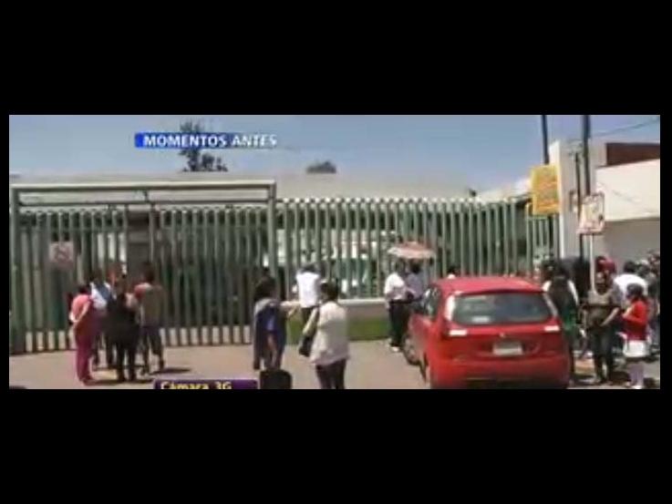 Atienden fuga de gas en hospital de Ecatepec
