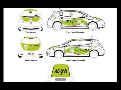 Taxis cero emisiones tendrán nuevas características