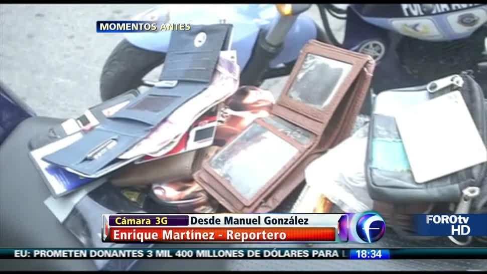 Detienen a sexagenario carterista en Tlatelolco