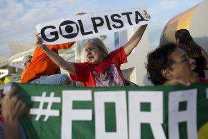 Protestas por el impeachment en Brasilia