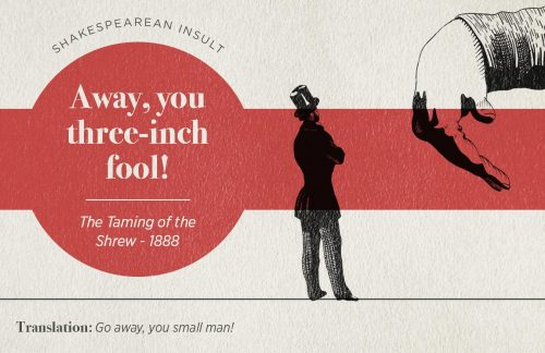 Build Your Own Shakespearean Insult With This Handy Chart Infographic