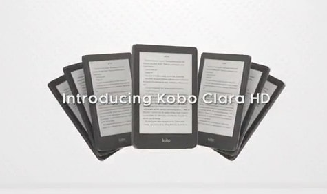 """Leaked Youtube Video Reveals Kobo Clara HD has a 6"""" Screen With Color-Changing Frontlight e-Reading Hardware e-Reading Software Kobo"""