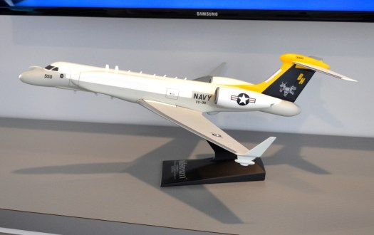 A model of the future NC-37B for the US Navy.