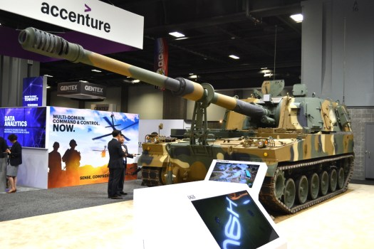 The K9 Thunder self-propelled howitzer.