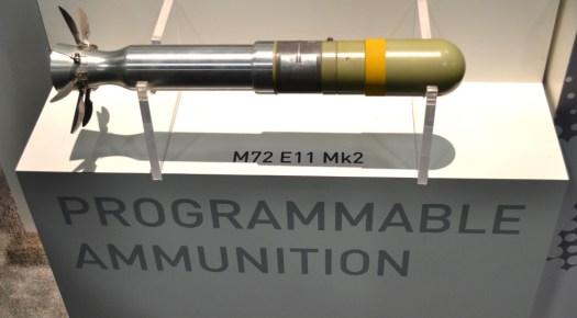 The programmable M72E11 Mk 2 rocket.