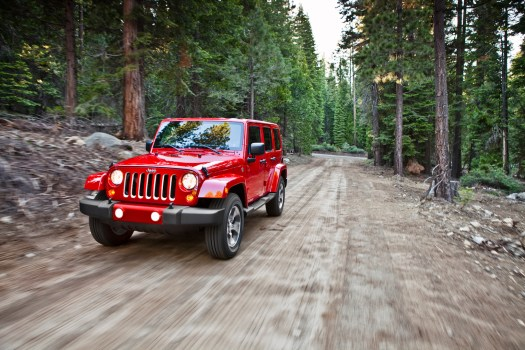 All-new Wrangler cleans up nicely for the red carpet in LA
