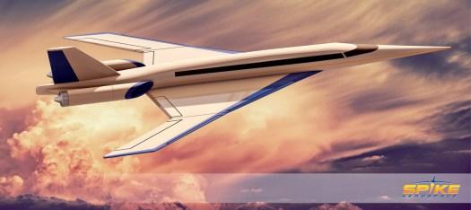 Spike S-512 Quiet Supersonic Jet