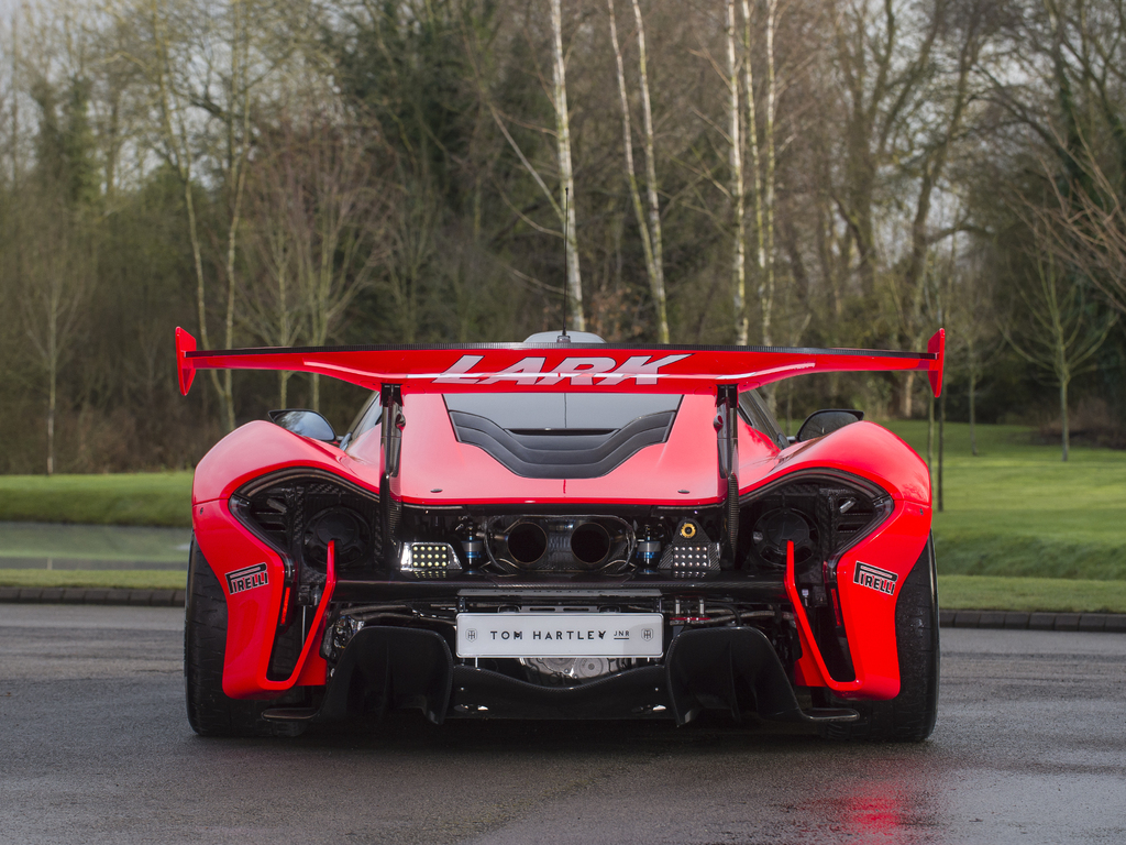 Theres a StreetLegal McLaren P1 GTR for Sale in the UK