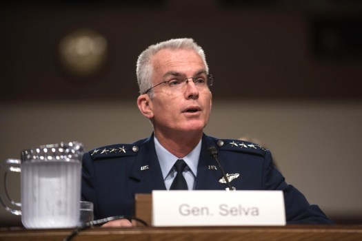 Vice Chairman of the Joint Chiefs of Staff U.S. Air Force General Paul Selva.