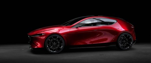 Mazda's Kai is almost too pretty to be a hatchback
