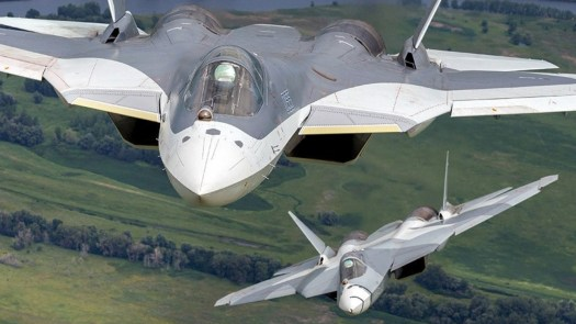 The Su-57's 101KS-V IRST is mounted where it is found traditionally on Russia fighters and not the best spot for low observability. The ball does rotate rearwards in when not in use.