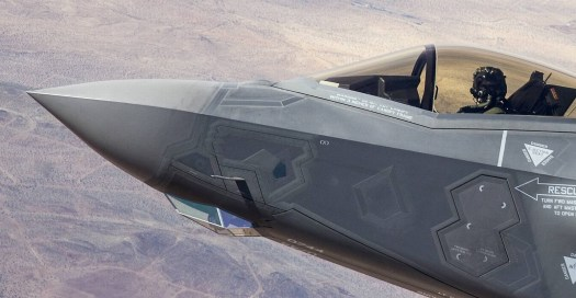 The F-35's EOTS enclosure offers a far wider field of view than the one seen on the J-20. This is necessary because it replaces the turreted targeting pods found on most western fighters that are used primarily to engage ground objects. With this in mind, the J-20's optical sensor is likely air-to-air centric, with limited to no ground attack capability at this time.