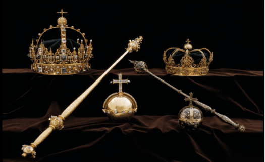 The two crowns, as well as the