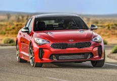 2019 Kia Stinger GT Right Front Three Quarters