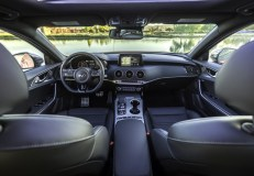 2019 Kia Stinger GT Dashboard