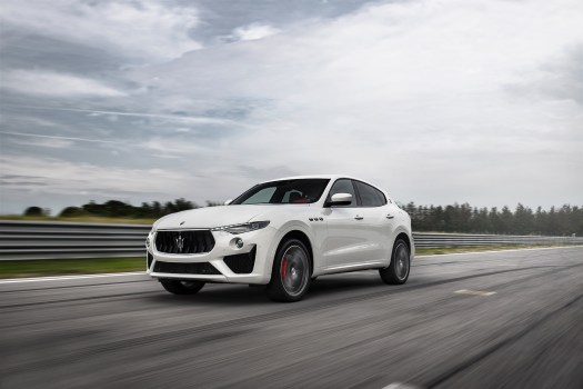 New V-8 pumps out 560 hp in the Levante GTS, 590 for Levante Trofeo