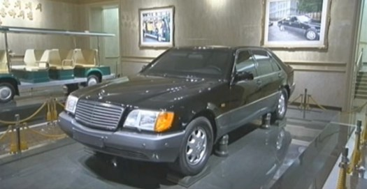 One of Kim Jong Il's armored Mercedes.