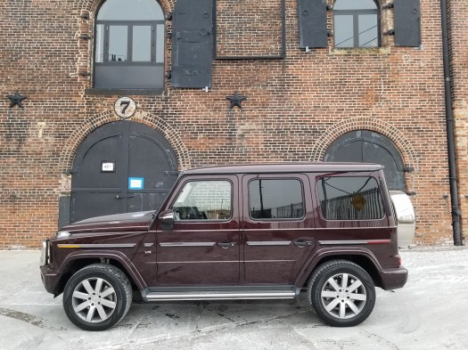 G550, harborside in Brooklyn