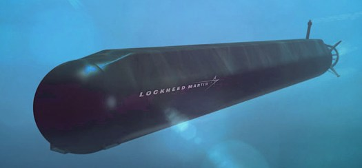 An artist's conception of Lockheed Martin's Orca proposal.