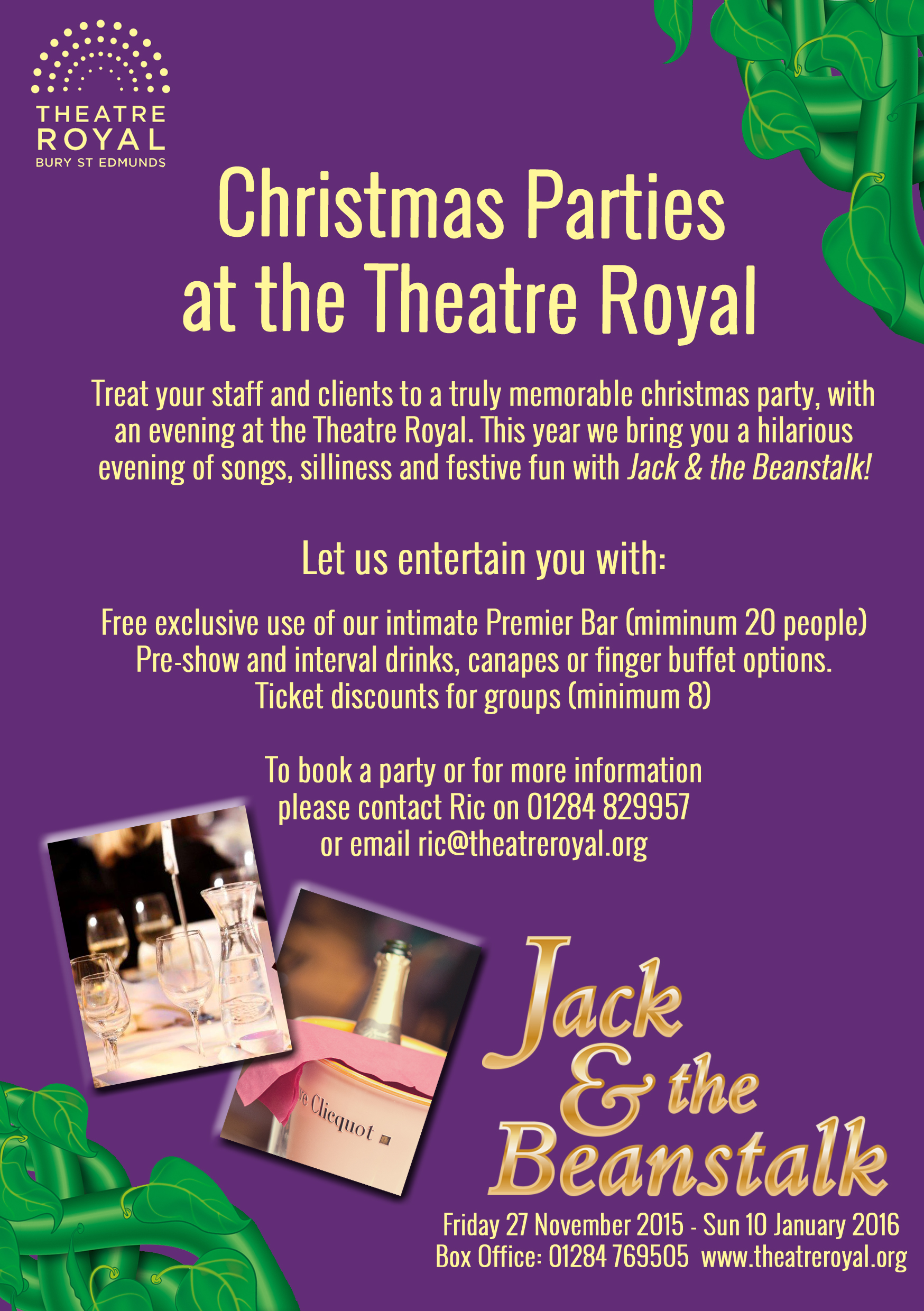 Christmas Parties at the Theatre Royal - Theatre Royal