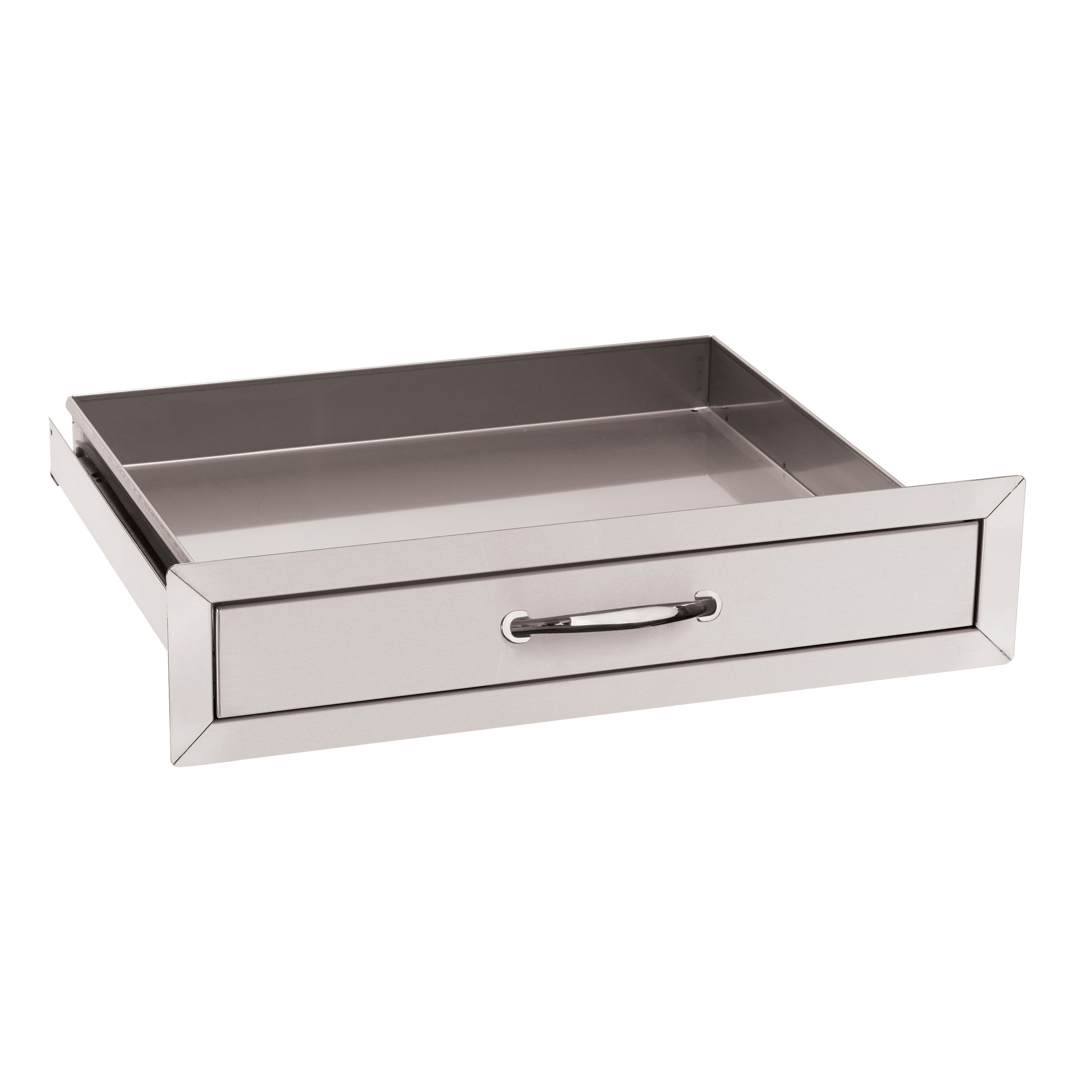 stainless steel kitchen cart with drawers lacquer cabinets summerset utility drawer ssud 1 thegrillfather