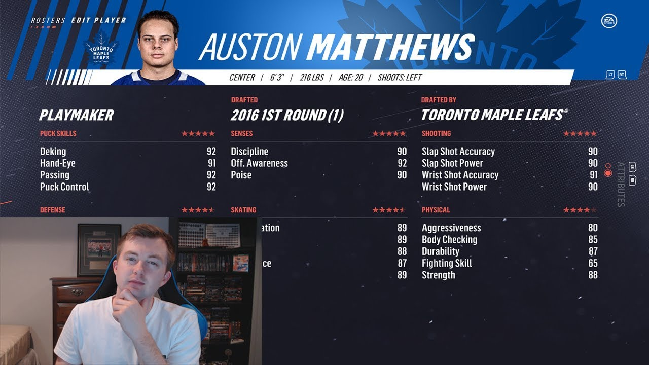 Nhl 19 Ratings Review  Top 50 Players Part 3  The Hockey