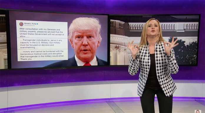 samantha bee full frontal trans donald trump