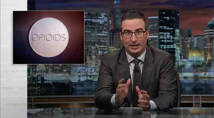 john oliver lanx last week tonight donald trump opioid crisis