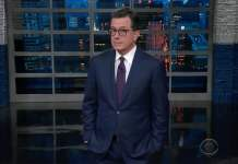 colbert late show donald trump health