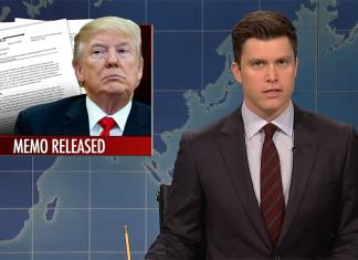 snl saturday night live donald trump devin nunes colin jost michael che