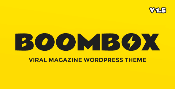 BOOMBOX V1.5.2 — Boombox wordpress theme nulled