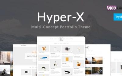 HYPERX V3.9.2 – PORTFOLIO FOR FREELANCERS & AGENCIES