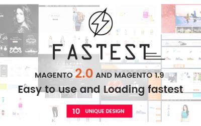 Download Fastest – Magento 2 themes & Magento 1.9 (10 Unique Design)