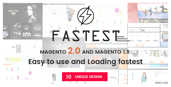 Download Fastest – Magento 2 themes & Magento 1.9 (10 Unique Design)