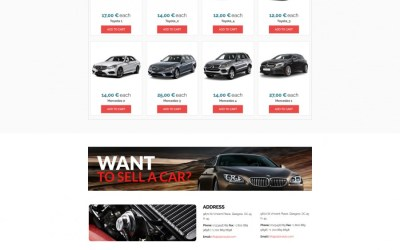 LT Salon Car Premium Salon Car Joomla template – Free Jommla! template